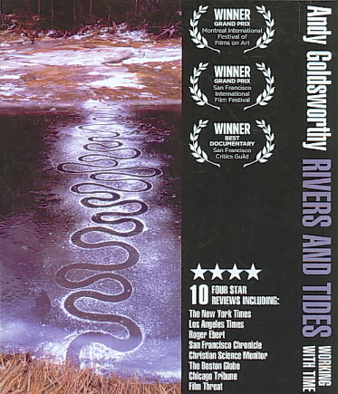 RIVERS AND TIDES BY GOLDSWORTHY,ANDY (Blu-Ray)